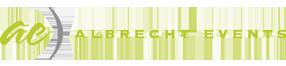 Albrecht Events Logo
